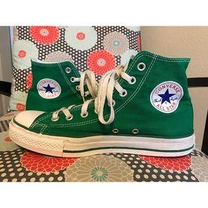 Converse Shoes | Emerald Green Converse